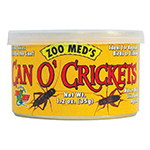 ZOOMED can o´crickets, grilos