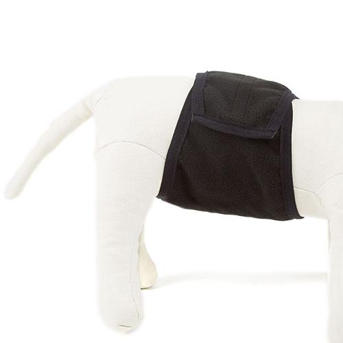 Fralda com faixa especial lavável para cães machos