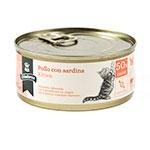 Alimento húmido para gatos Criadores Kitten de frango com sardinhas