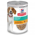 Hill's Science Plan Perfect Weight Canine Lata de alimento húmido para cães