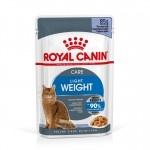 Royal Canin Ultra Light em gelatina alimento húmido para gatos