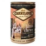 Comida húmida Carnilove Salmon & Turkey cachorros