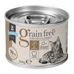 Criadores Grain Free húmido Vitela e javali para gatos