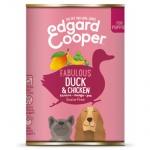 Lata Edgard & Cooper Pato e Frango para cachorros