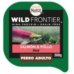Patê Nutro Wild Frontier salmão e frango para cães