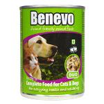 Benevo Duo Alimento húmido vegano para cães e gatos