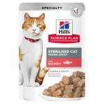Bocadinhos tenros Hill s para gatos esterilizados bolsa de 85g