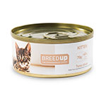 Comida húmida para gatos Breed Up Kitten de atum