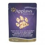 Comida húmida para gatos Applaws Pouch frango e arroz selvagem