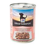 Hill's Ideal Balance comida húmida para cães com salmão e legumes