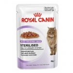 Royal Canin Sterilised comida húmida em gelatina para gatos