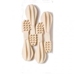 snack escova de dentes de c225lcio para c227es tiendanimal