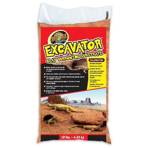 Sustrato argiloso para répteis Excavator