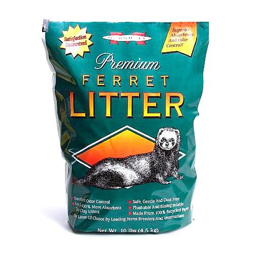 Areia Premium ferret litter, controlo de odor para furões