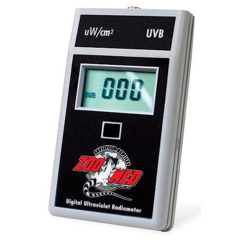 Medidor digital de raios UVB para terrários de Zoomed