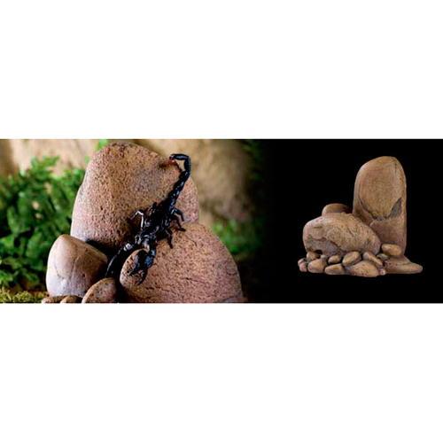 Rocha e cova Outcrops para terrário de Exo Terra