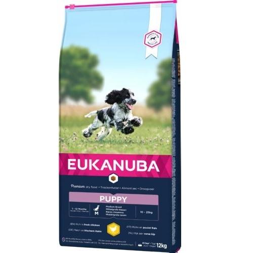 Eukanuba Puppy&Junior Raças Medianas
