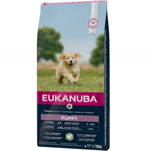 Eukanuba Puppy&Junior Cordeiro e Arroz