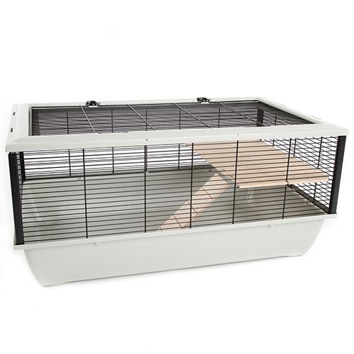 Gaiola para hamster TK-Pet Wood com 2 andares