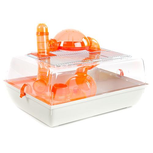Gaiola panorâmica para hamsters Technical Pet Plastic