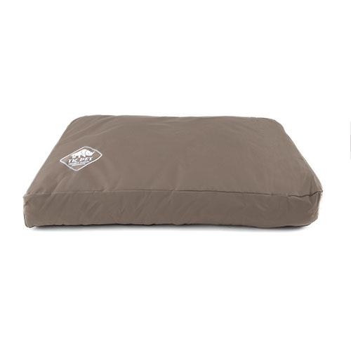 Capa castanha de cama viscoelástica tipo colchão TK-Pet Woof
