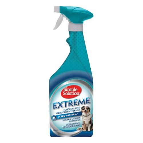 Eliminador de odores e nódoas Simple Solution Extreme cães