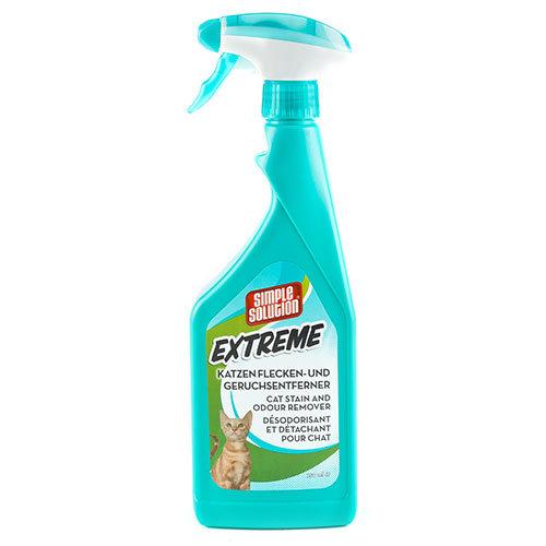 Eliminador de odores e nódoas Simple Solution Extreme para gatos