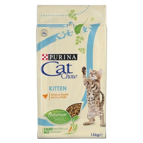 Ração para gatinhos Cat Chow Kitten