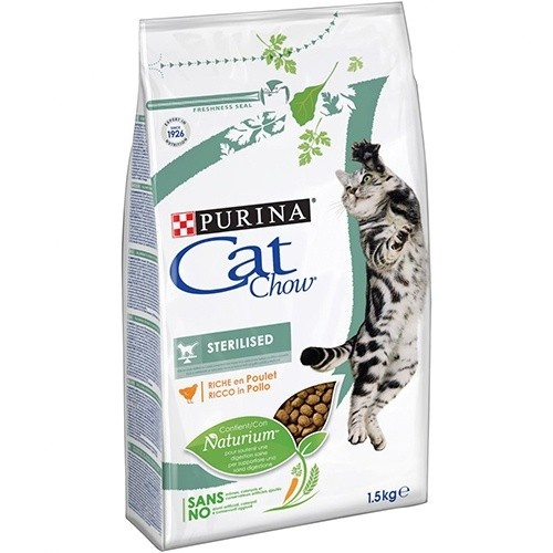 Ração para gatos esterilizados Cat Chow Sterilised