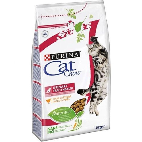 Ração para gatos Cat Chow especial cuidados urinários