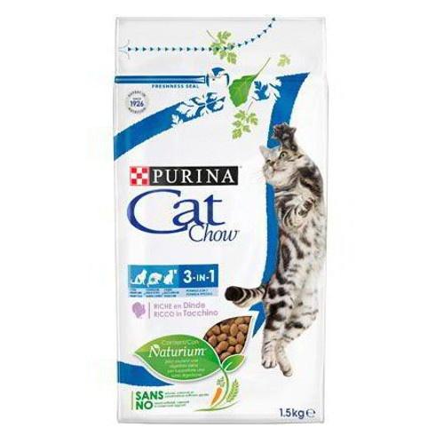 Ração para gatos Cat Chow 3 em 1
