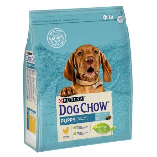 Ração para cãezinhos Dog Chow Puppy com frango