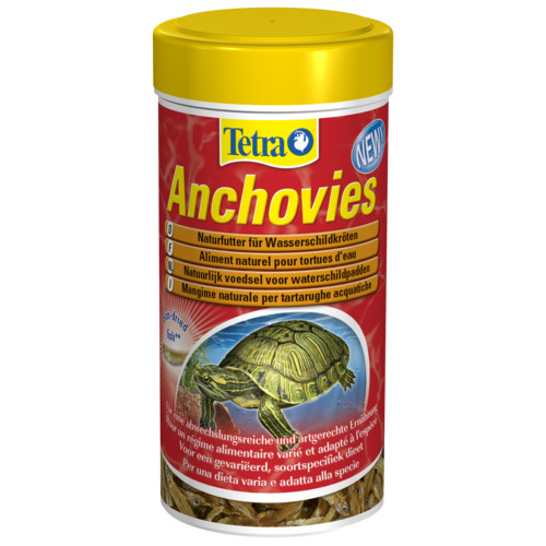 Comida para tartarugas Tetra Anchovies