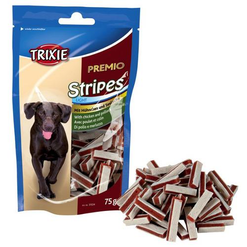 Snack para cães Trixie Premio Stripes tiras de carne