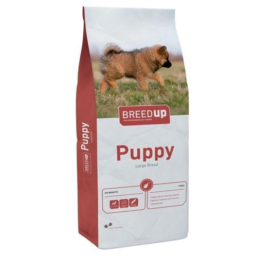 Ração súperpremium Breed Up Puppy Large para cachorros de raças grandes