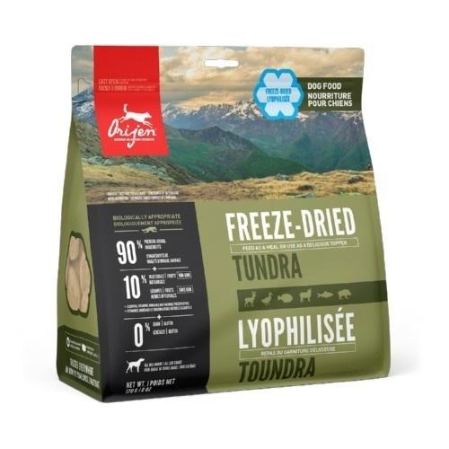 Orijen Freeze-Dried Tundra comida desidratada para cães