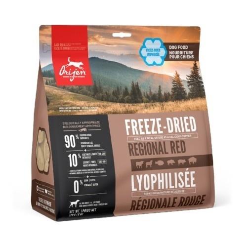 Orijen Freeze-Dried Regional Red ração desidratada para cães