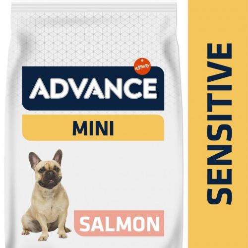 Advance Mini Sensitive Ração para cães com salmão e arroz