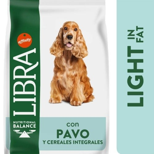 Affinity Ração para cães Libra Light com perú e cereais integrais