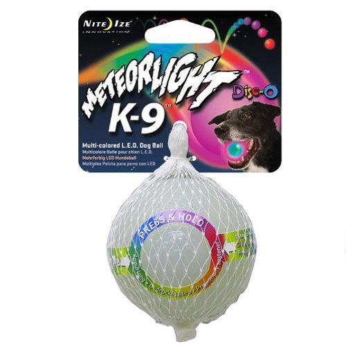 Brinquedo para cães MeteorLight bola com luz LED