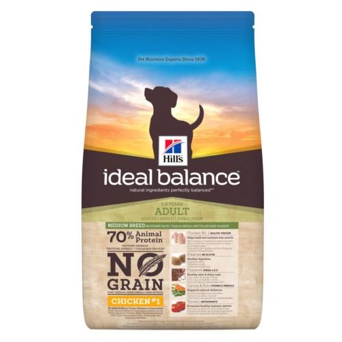 Hill's Ideal Balance Adult No Grain ração para cães com frango e batata