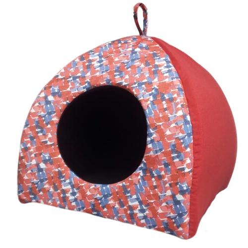 Cama para cães e gatos TK-Pet Mandala tipo iglu