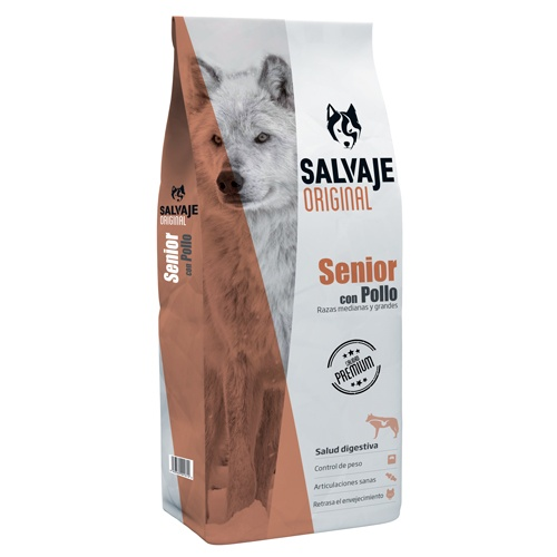 Ração para cães Salvaje Original Senior