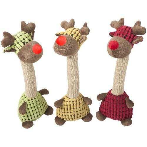 Brinquedo para cães Nayeco peluche girafa Jenny