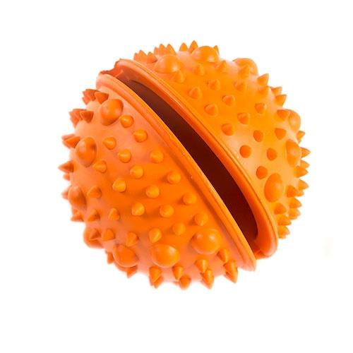 Brinquedo para cães TK-Pet Snacks & Play bola ouriço porta Snackss