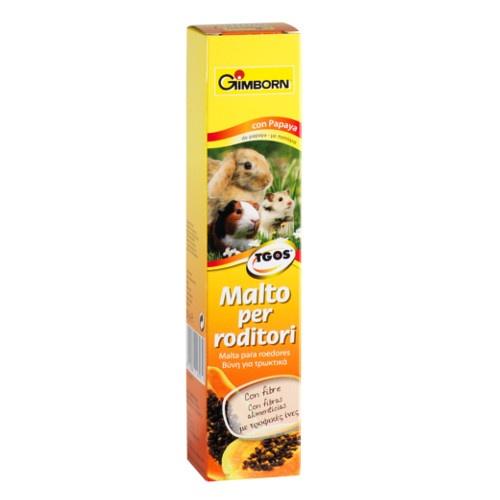 Malte para roedores GimBorn com papaia