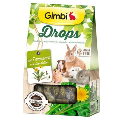 Snacks para roedores GimBi Drops Dente-de-leão
