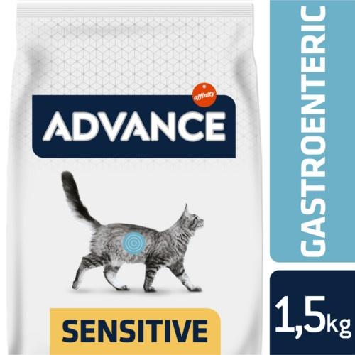 Advance Gastroenteric Sensitive ração para gatos