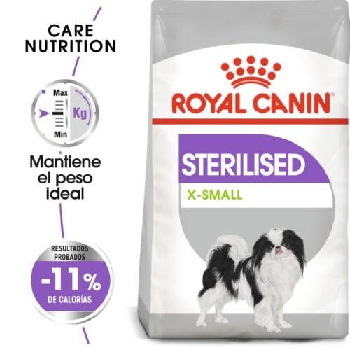 Royal Canin XSmall Sterilised ração para cães esterilizados mini