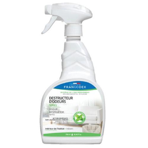 Eliminador de odores para a casa em spray Francodex